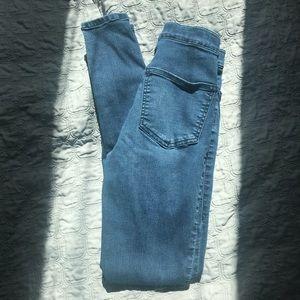 NEW!! Topshop Joni jeans in dark blue